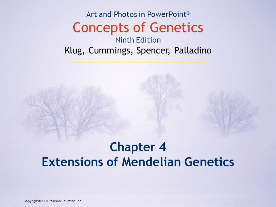 concepts of genetics by klug and cummings free download