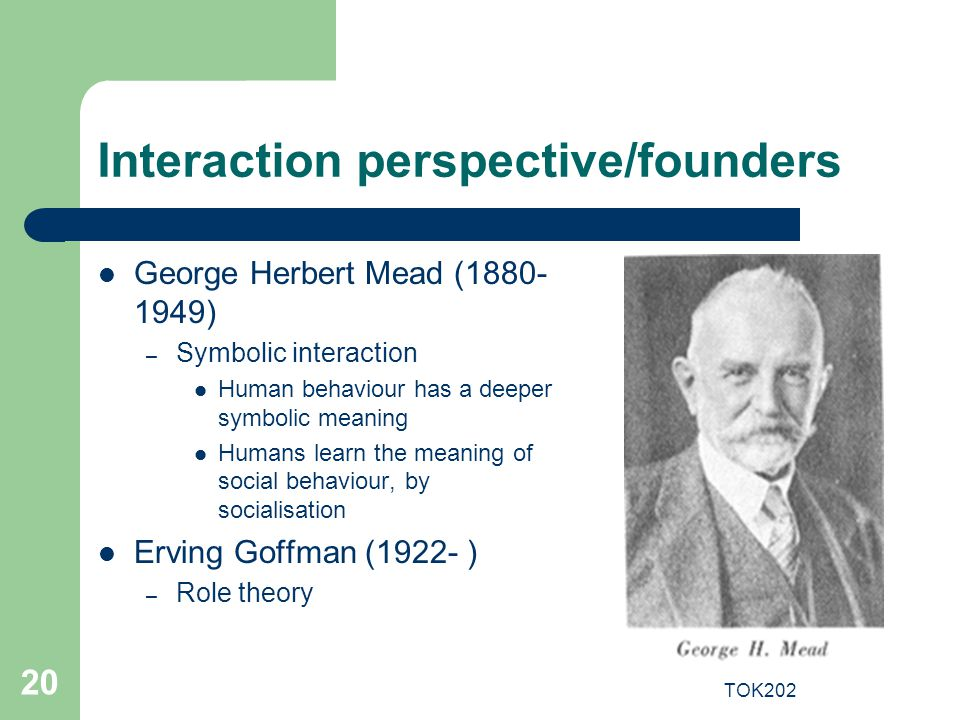 Interaction perspective/founders