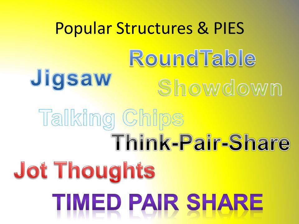 Popular Structures & PIES