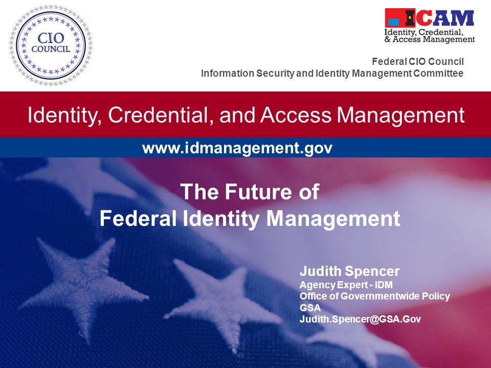 Federal Identity Management