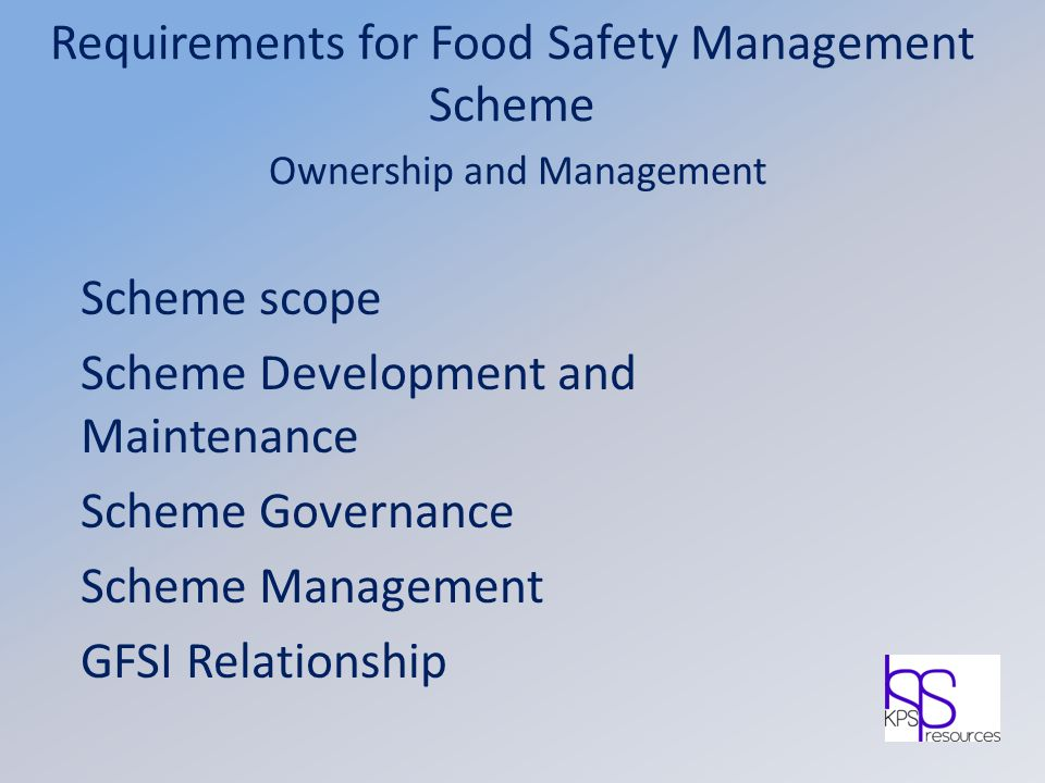 Scheme Development and Maintenance Scheme Governance Scheme Management