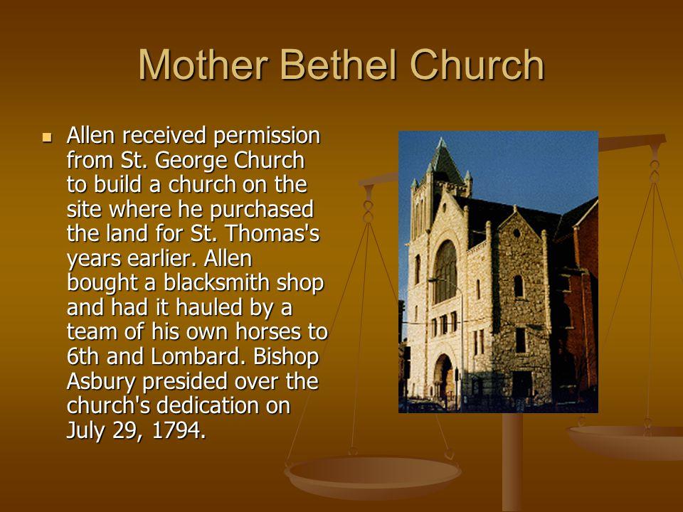Mother Bethel Church