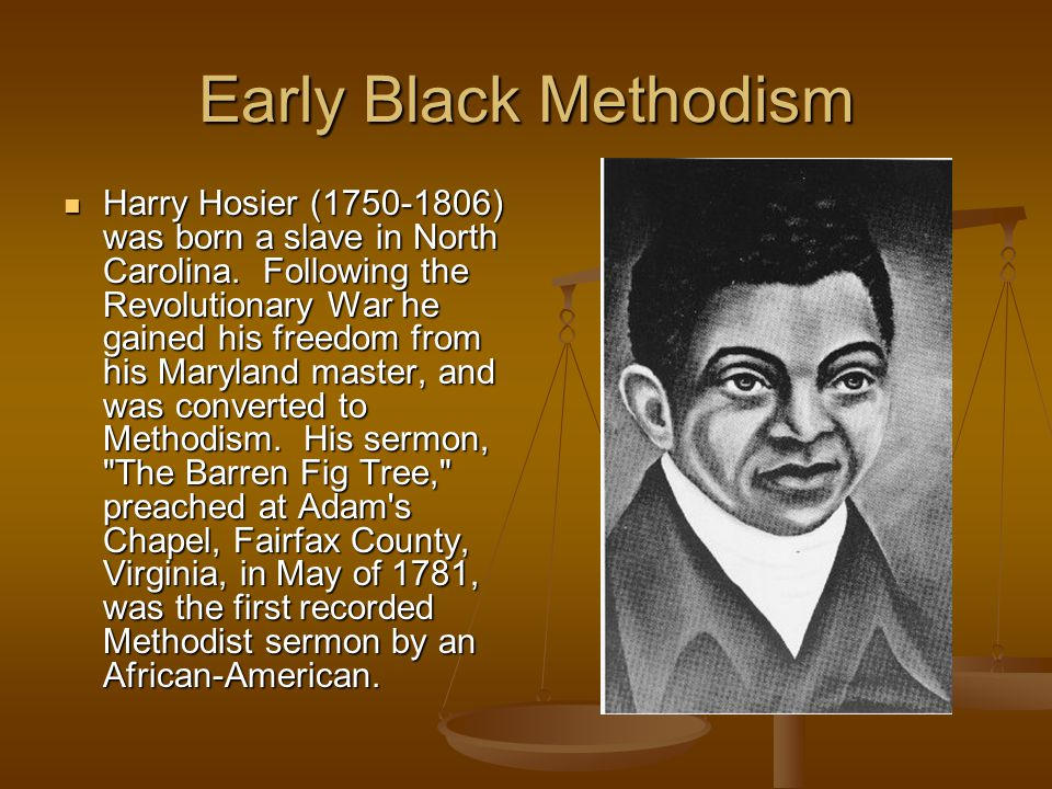 Early Black Methodism