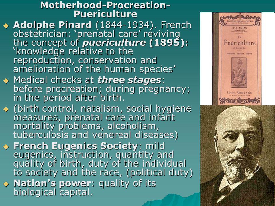 Motherhood-Procreation-Puericulture