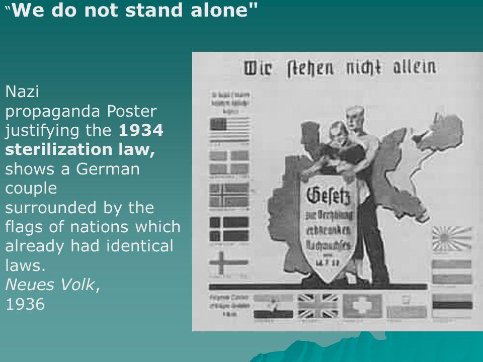 propaganda Poster justifying the 1934