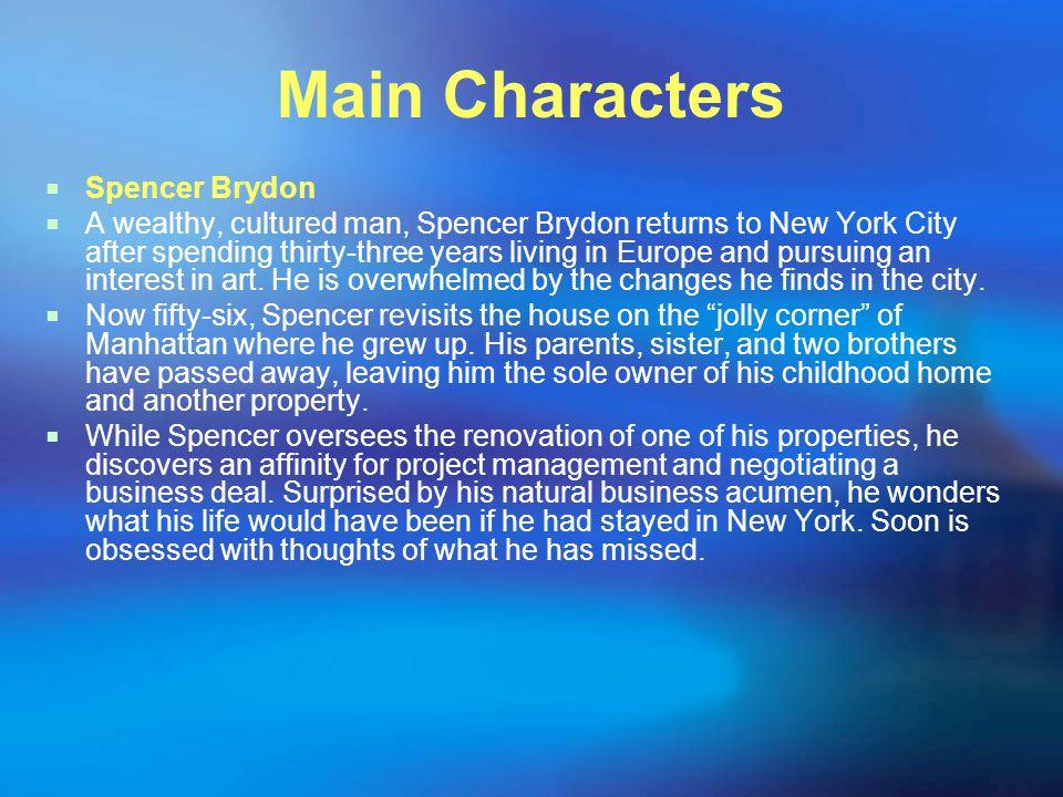 Main Characters Spencer Brydon