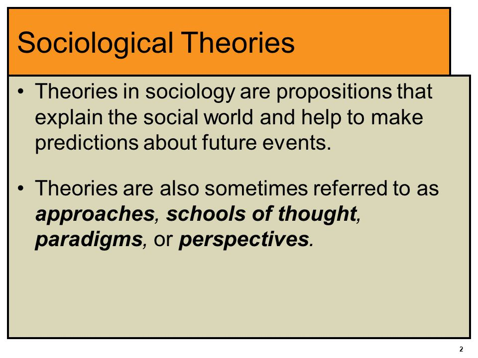 three major sociological schools of thought Explain three schools of thoughts sociology which makes use of three schools of thoughts of the whole society is interpreted by this school of thought.