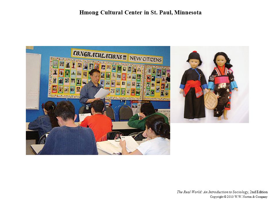 Hmong Cultural Center in St. Paul, Minnesota
