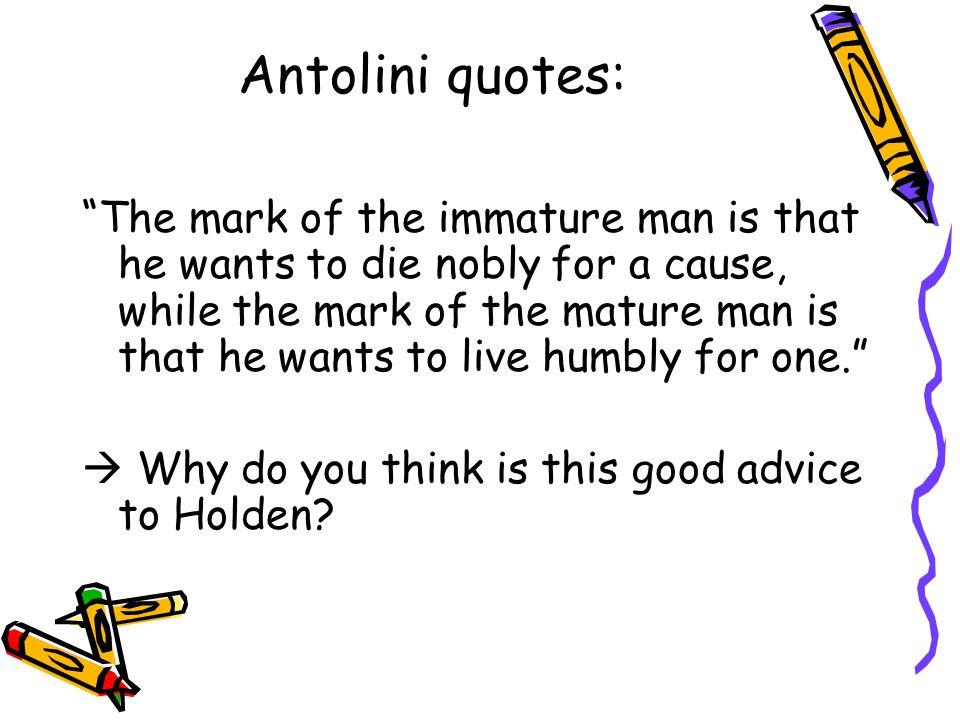 Antolini quotes: