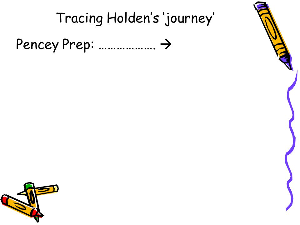 Tracing Holden's 'journey'