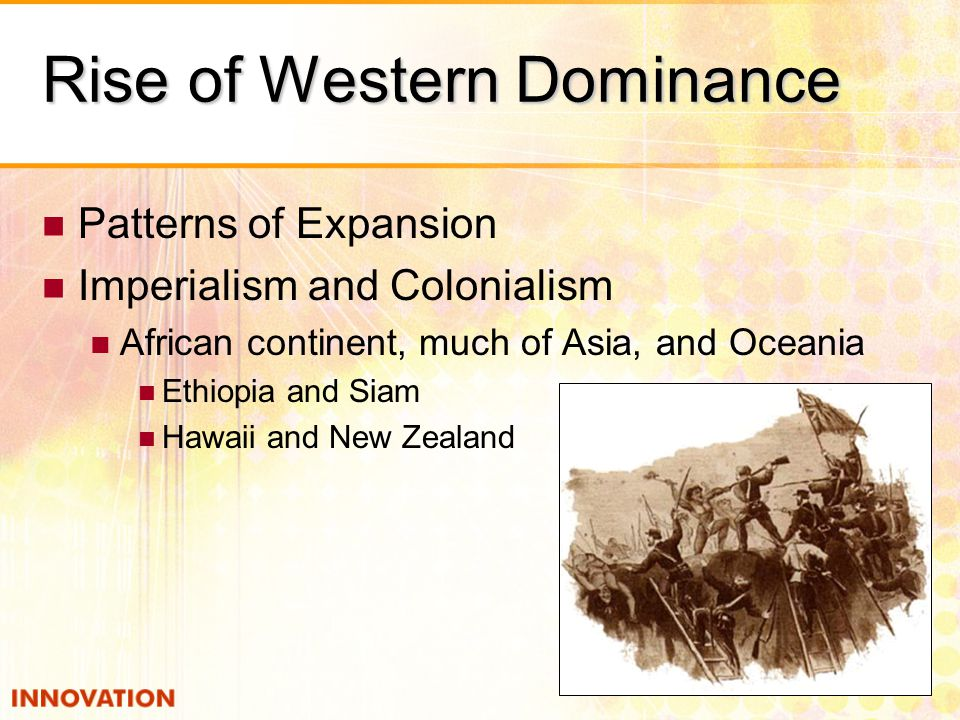 Rise of Western Dominance