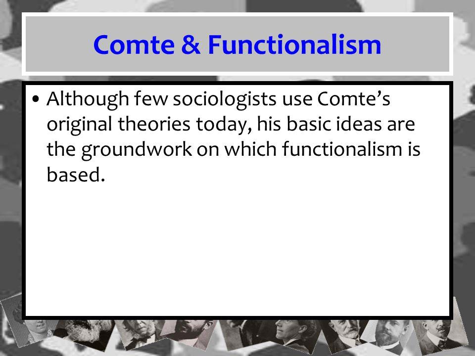 Comte & Functionalism