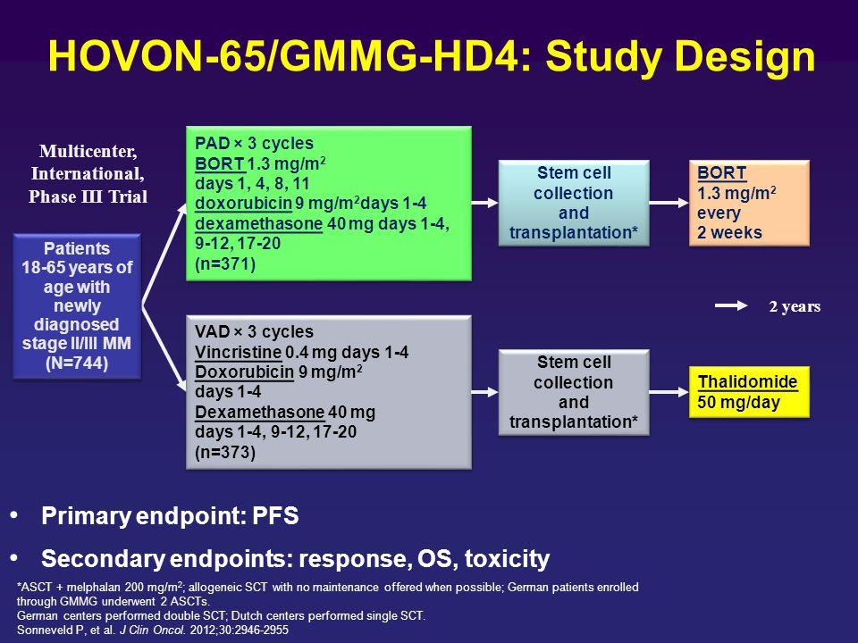 HOVON-65/GMMG-HD4: Study Design
