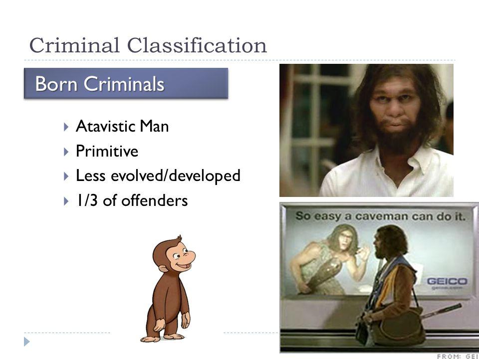 Criminal Classification