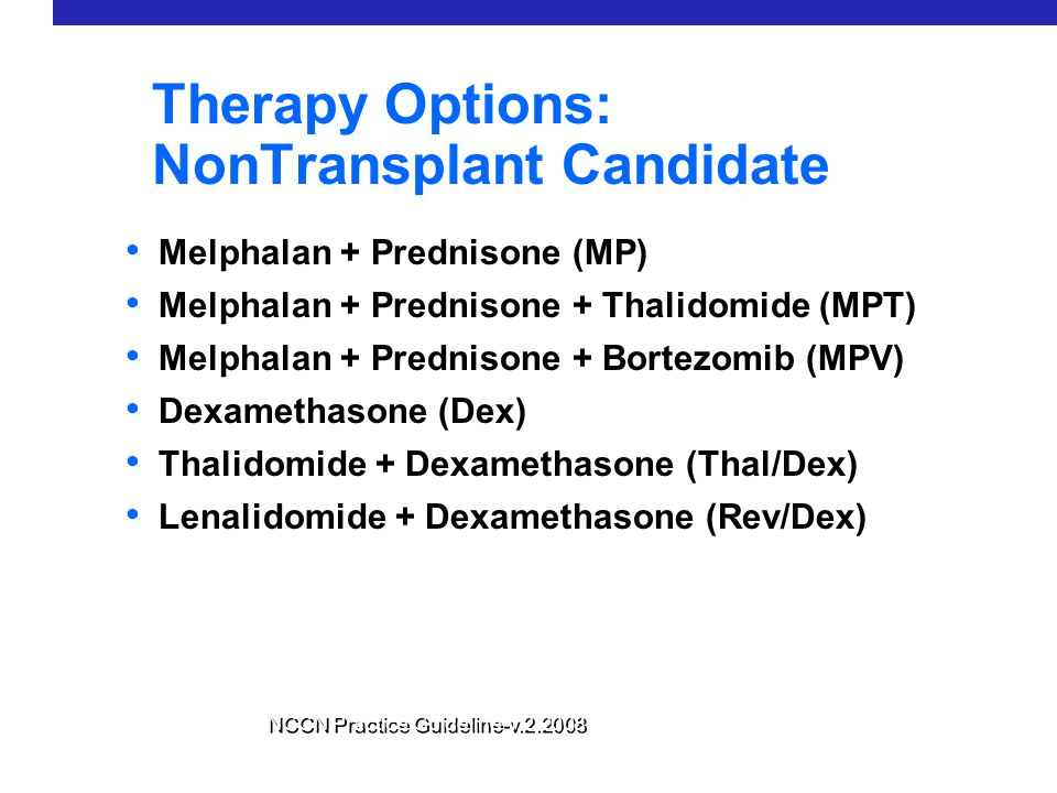 Therapy Options: NonTransplant Candidate