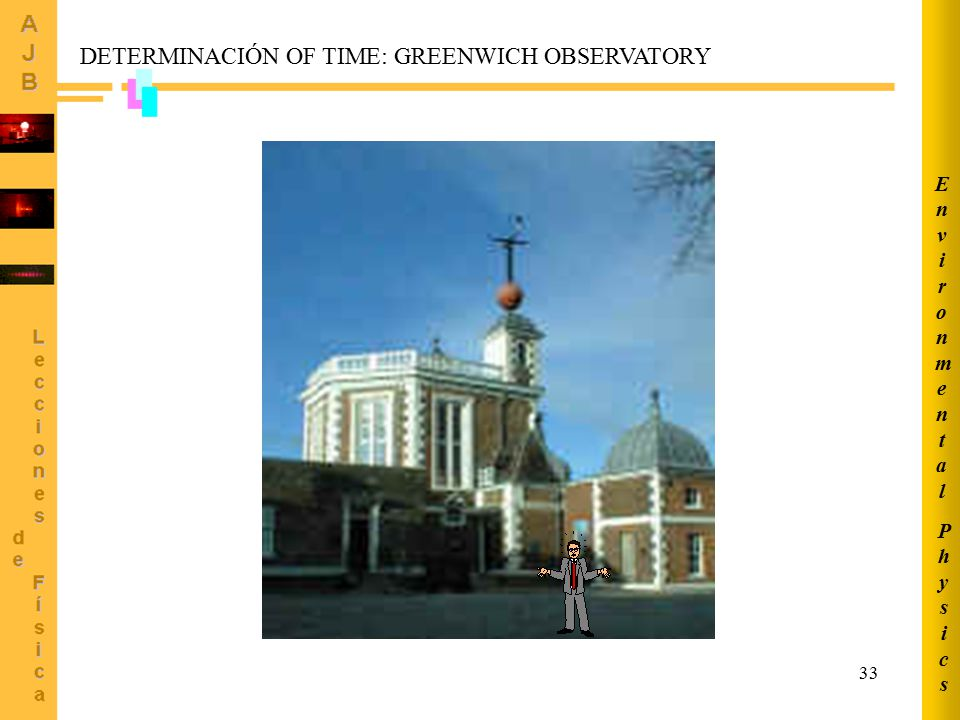 DETERMINACIÓN OF TIME: GREENWICH OBSERVATORY
