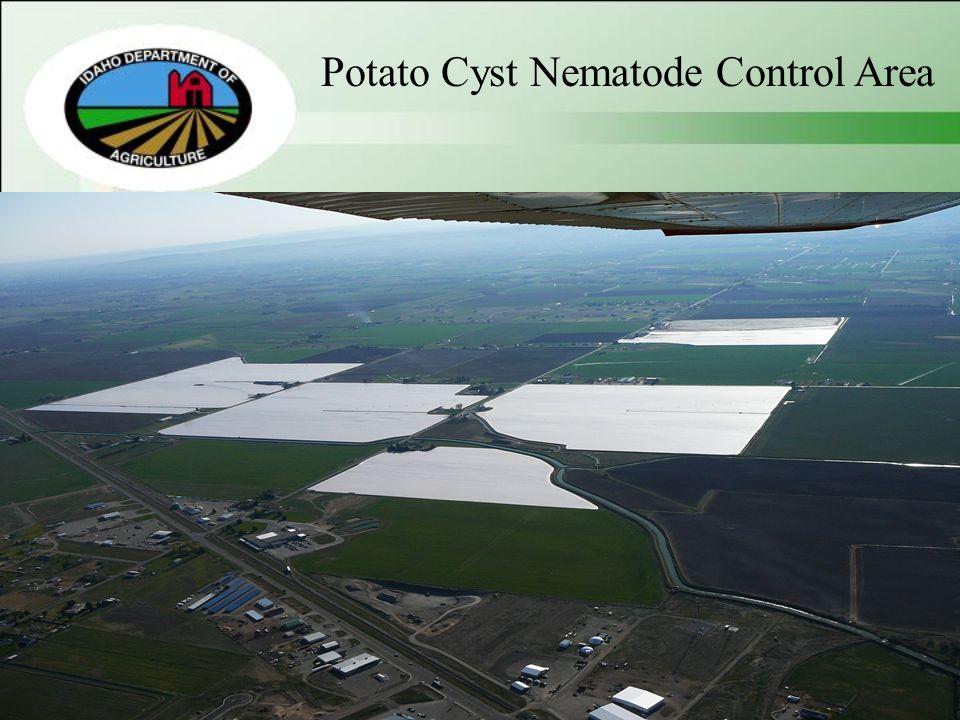 Potato Cyst Nematode Control Area