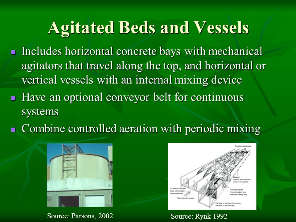 Agitated Beds and Vessels