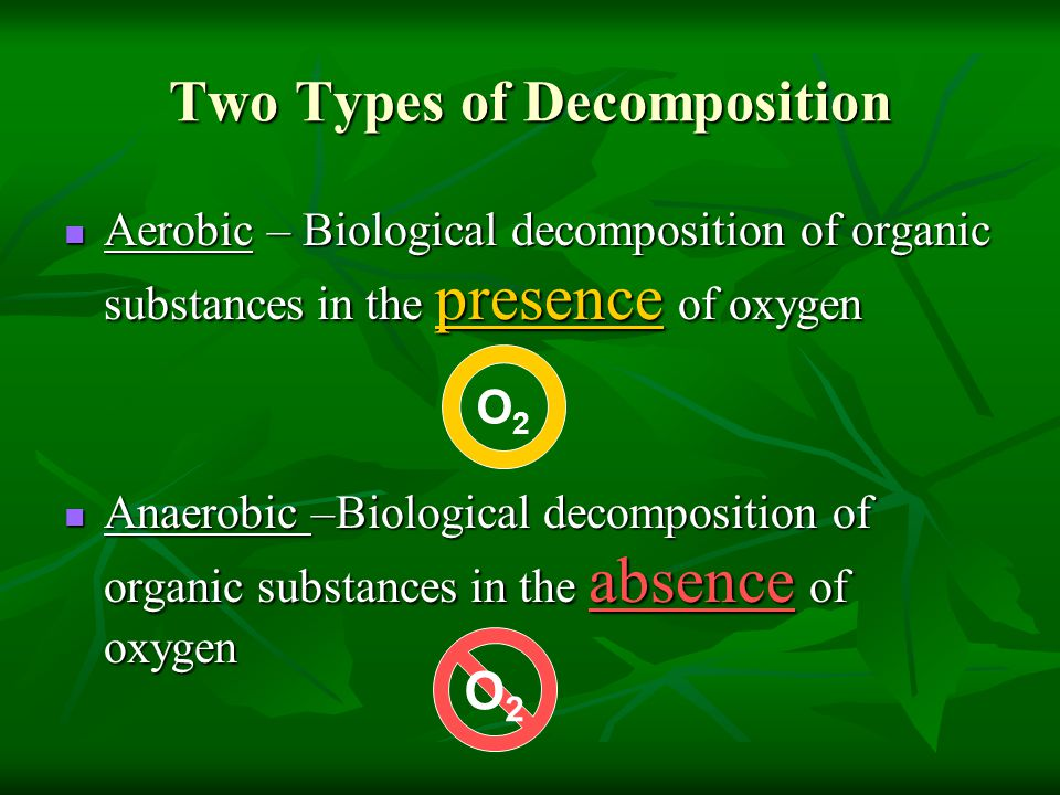 Two Types of Decomposition