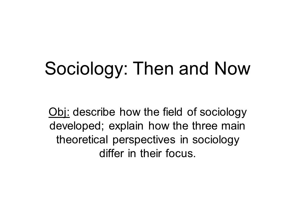 What Is the Sociological Perspective?