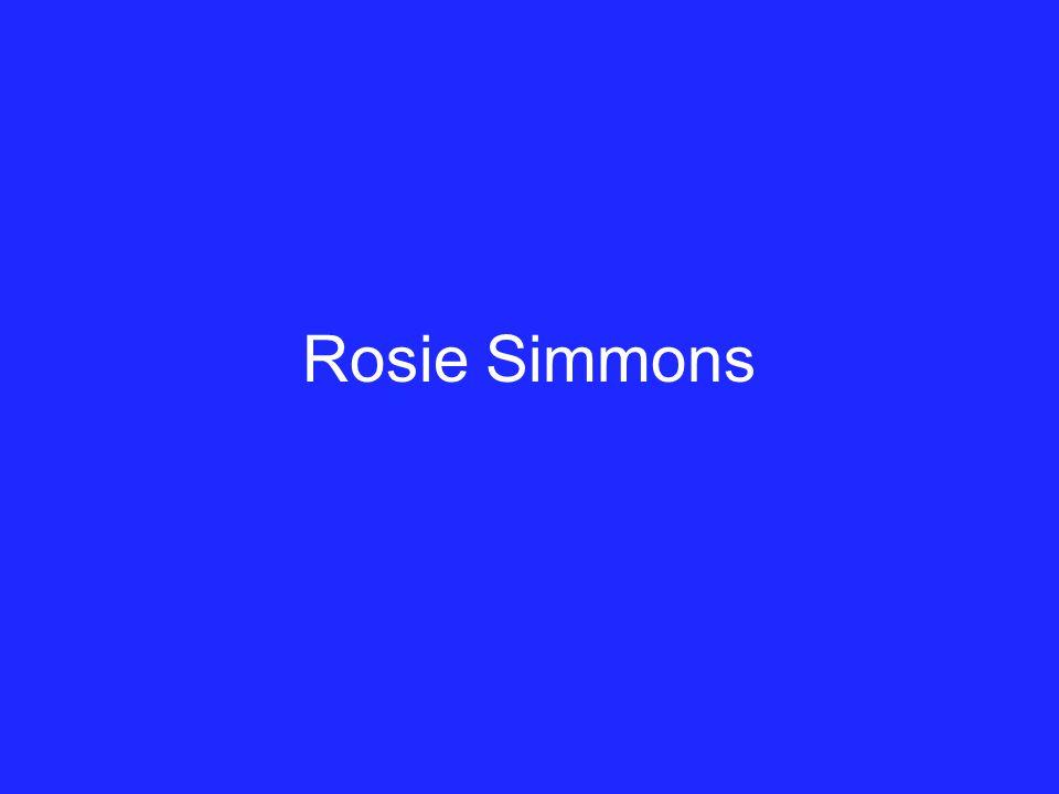 Rosie Simmons