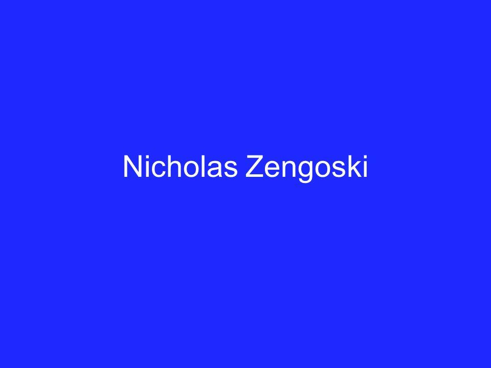 Nicholas Zengoski