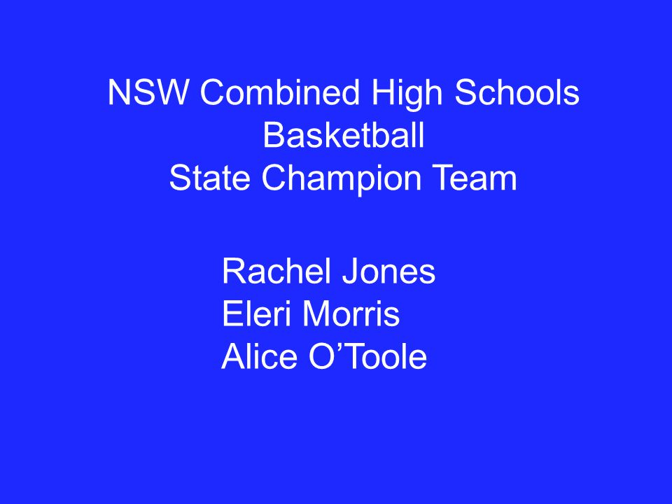 NSW Combined High Schools