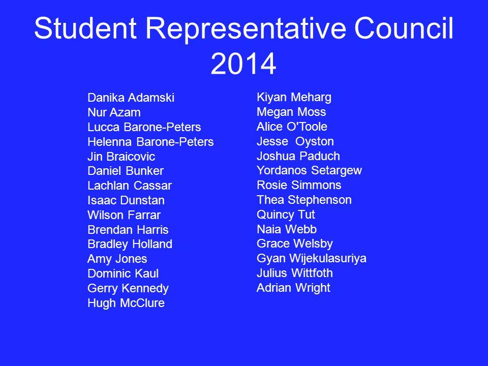 Student Representative Council 2014