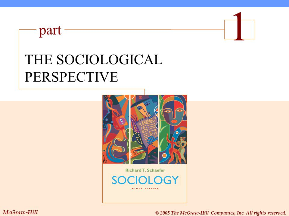 THE SOCIOLOGICAL PERSPECTIVE The Sociological Perspective