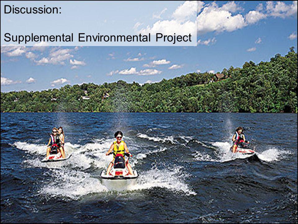 Supplemental Environmental Project
