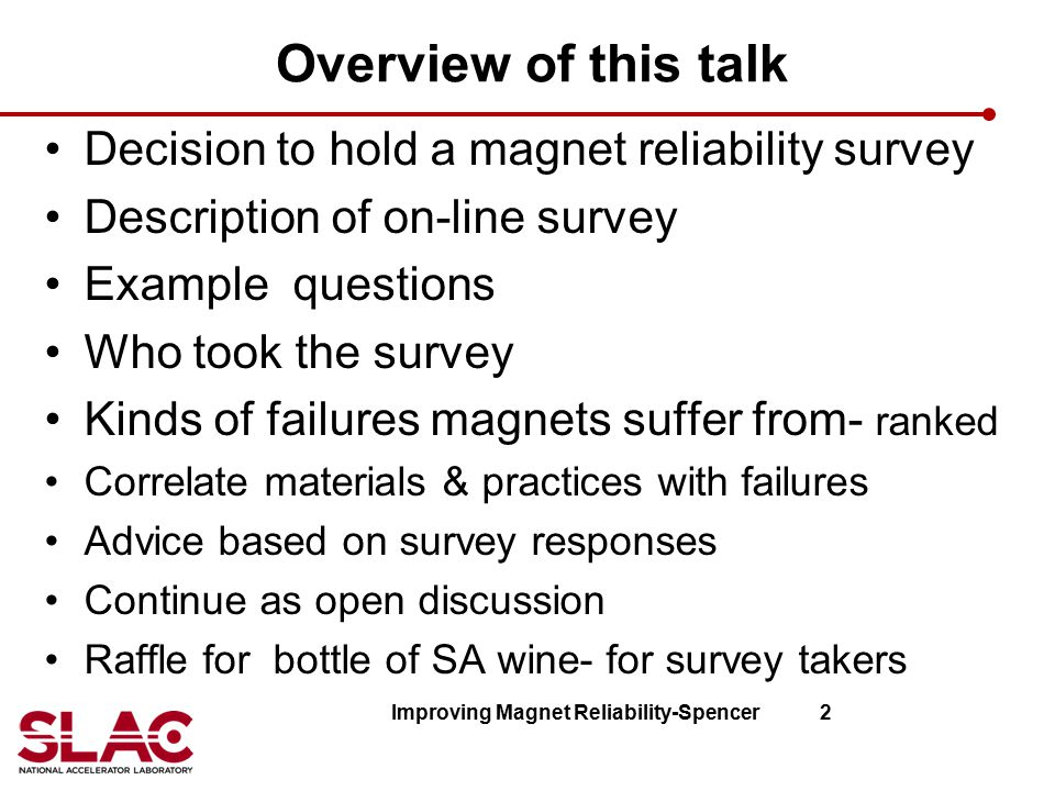 Improving Magnet Reliability-Spencer 2