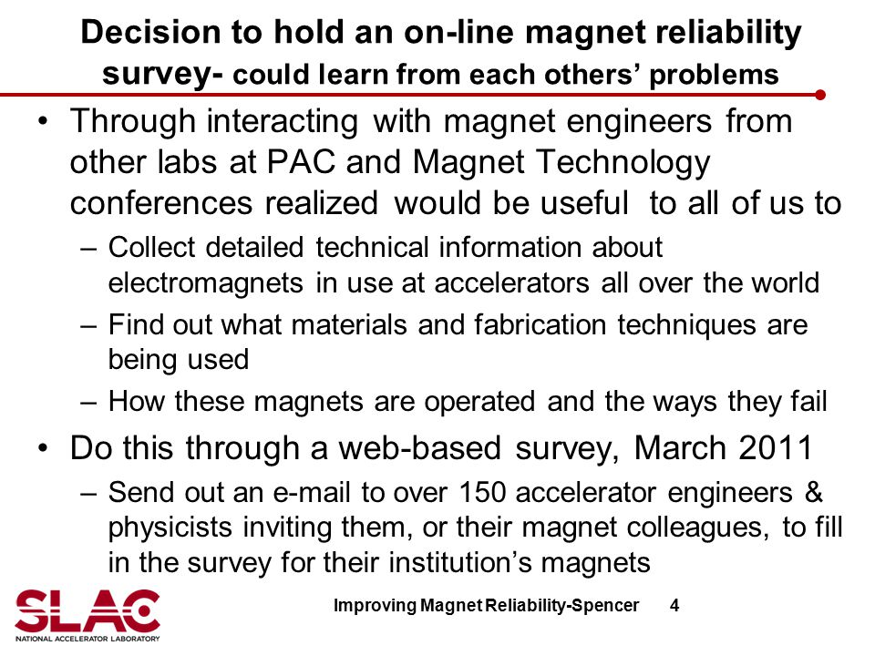 Improving Magnet Reliability-Spencer 4