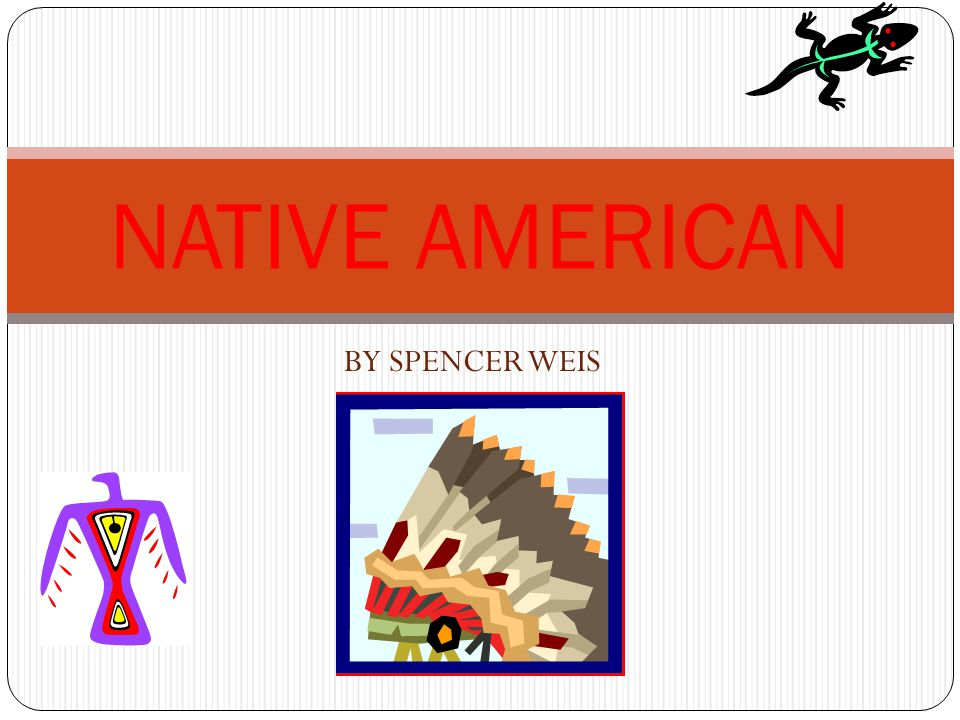 NATIVE AMERICAN BY SPENCER WEIS