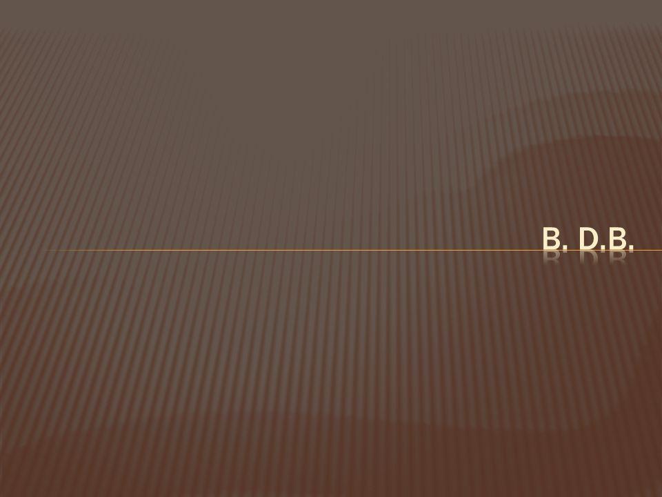 B. D.B.