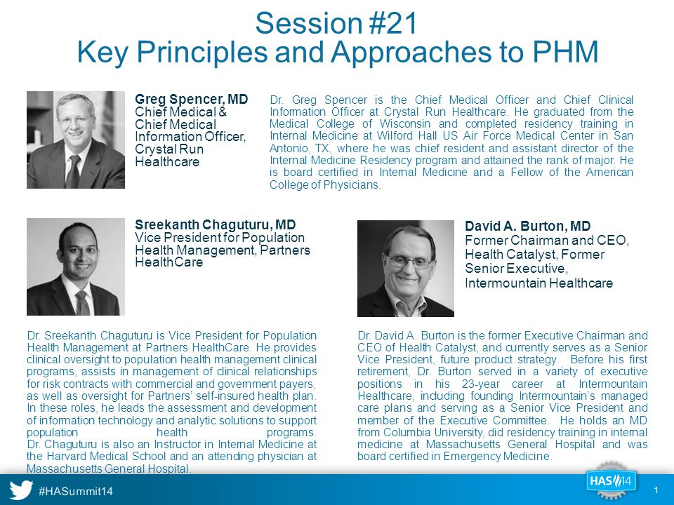 Session #21 Key Principles and Approaches to PHM