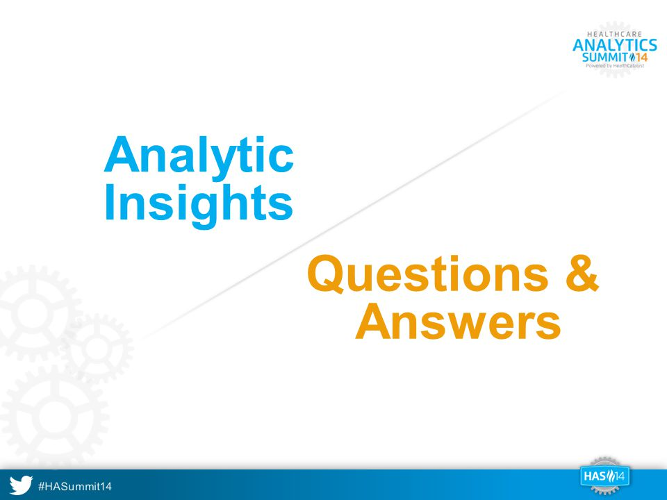Analytic Insights Questions & Answers A