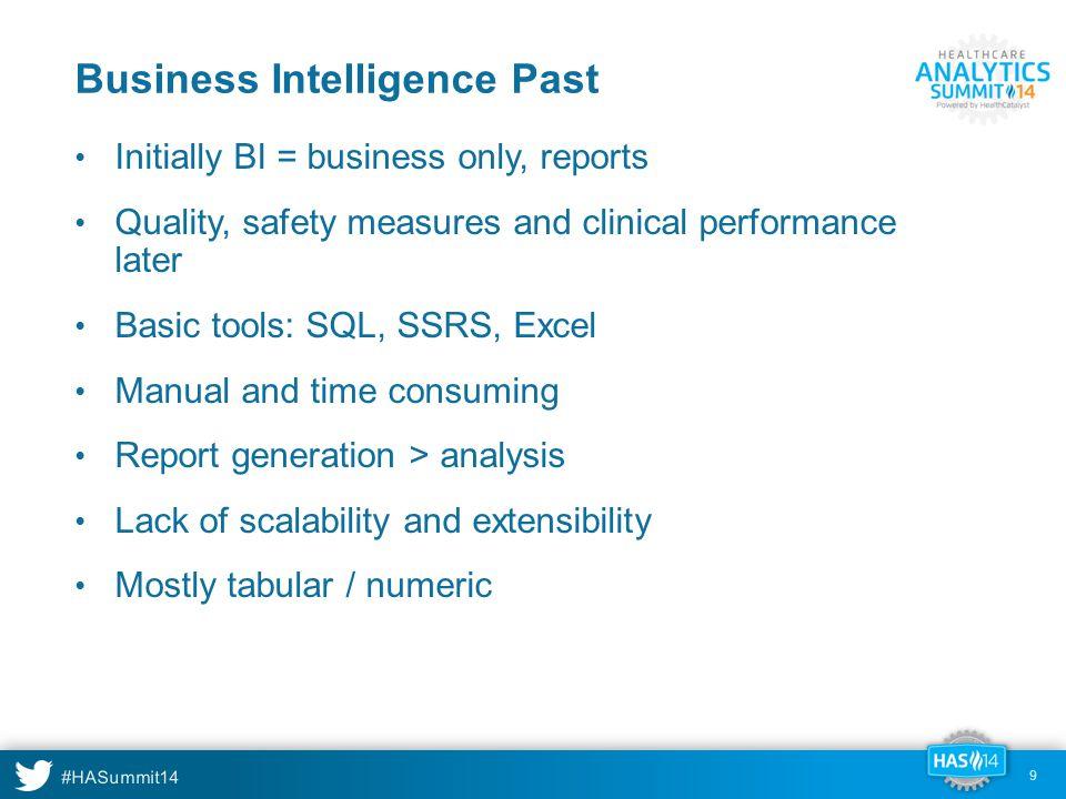 Business Intelligence Past