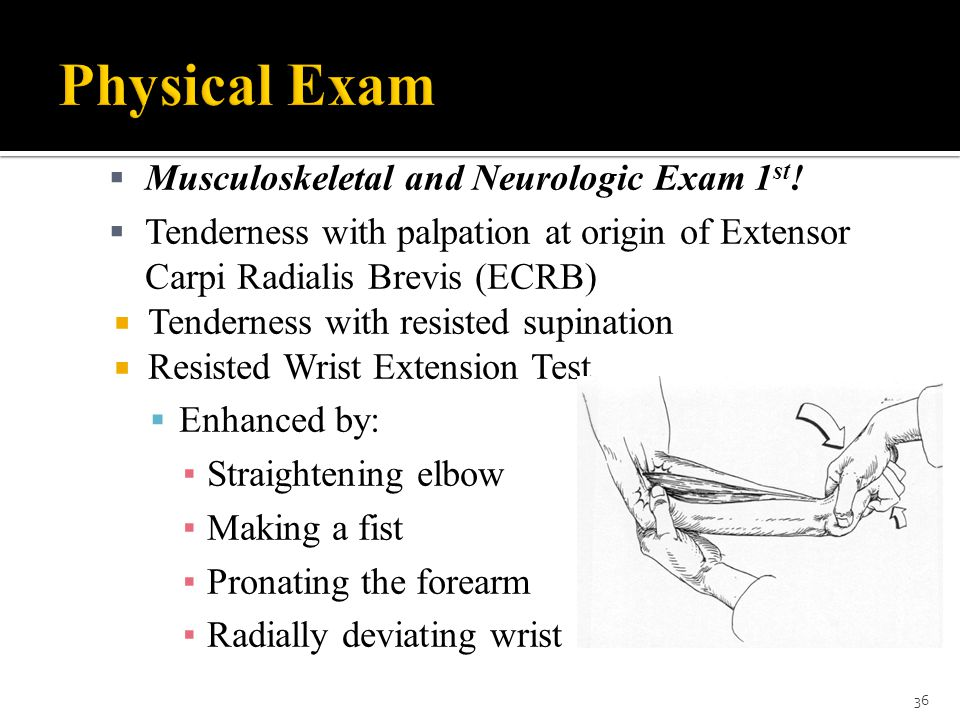 Physical Exam Musculoskeletal and Neurologic Exam 1st!