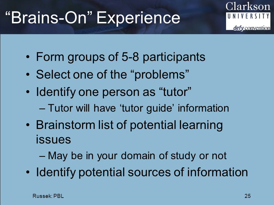 Brains-On Experience
