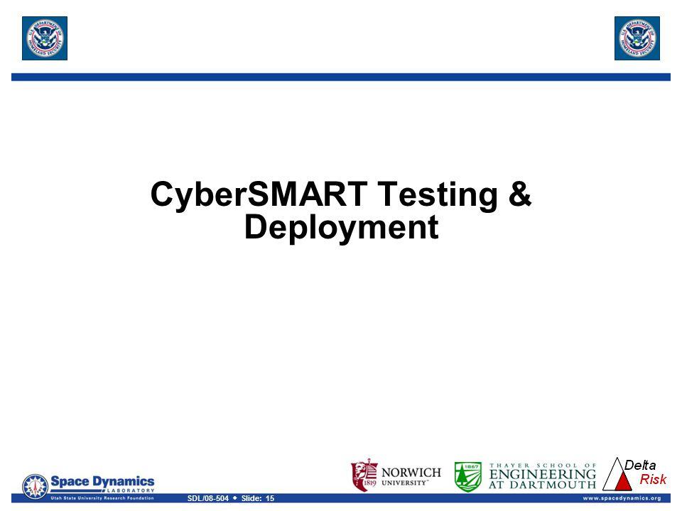 CyberSMART Testing & Deployment