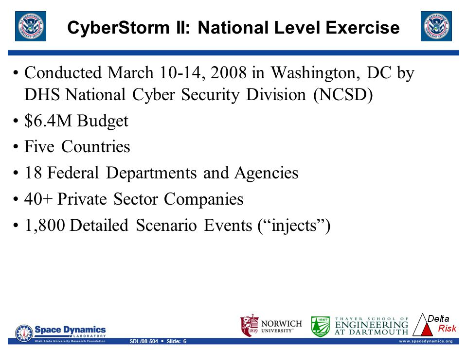 CyberStorm II: National Level Exercise