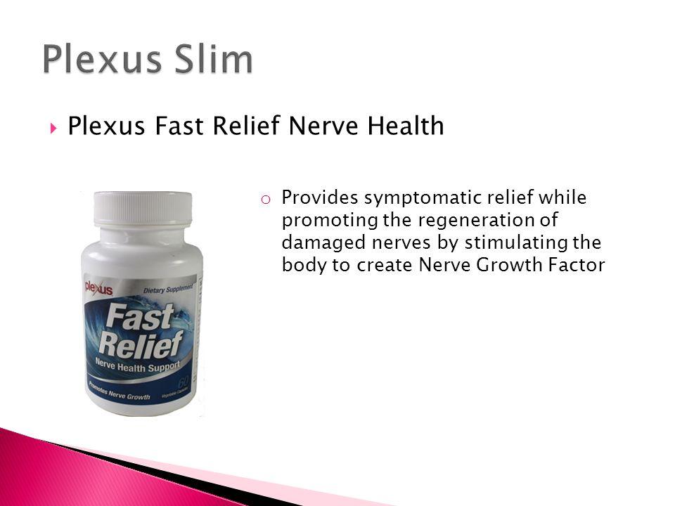 Plexus Slim Plexus Fast Relief Nerve Health