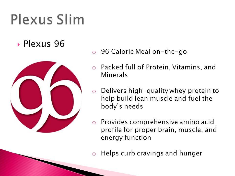 Plexus Slim Plexus 96 96 Calorie Meal on-the-go