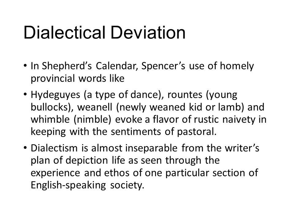 Dialectical Deviation