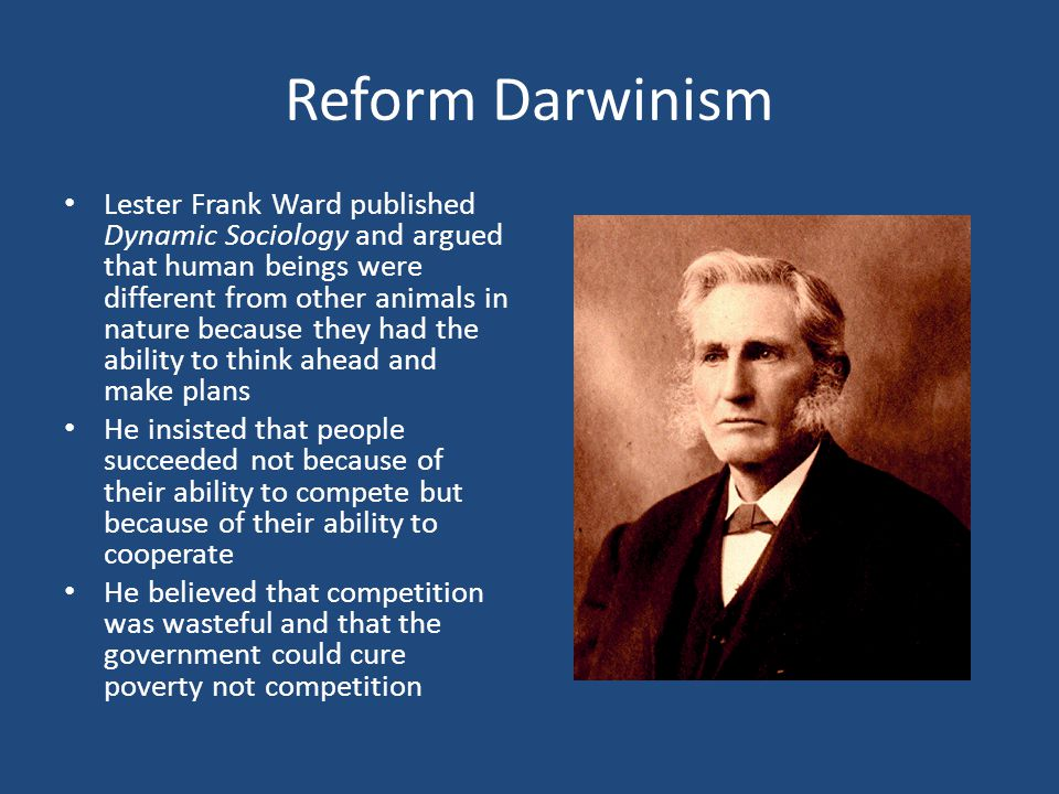 Reform Darwinism
