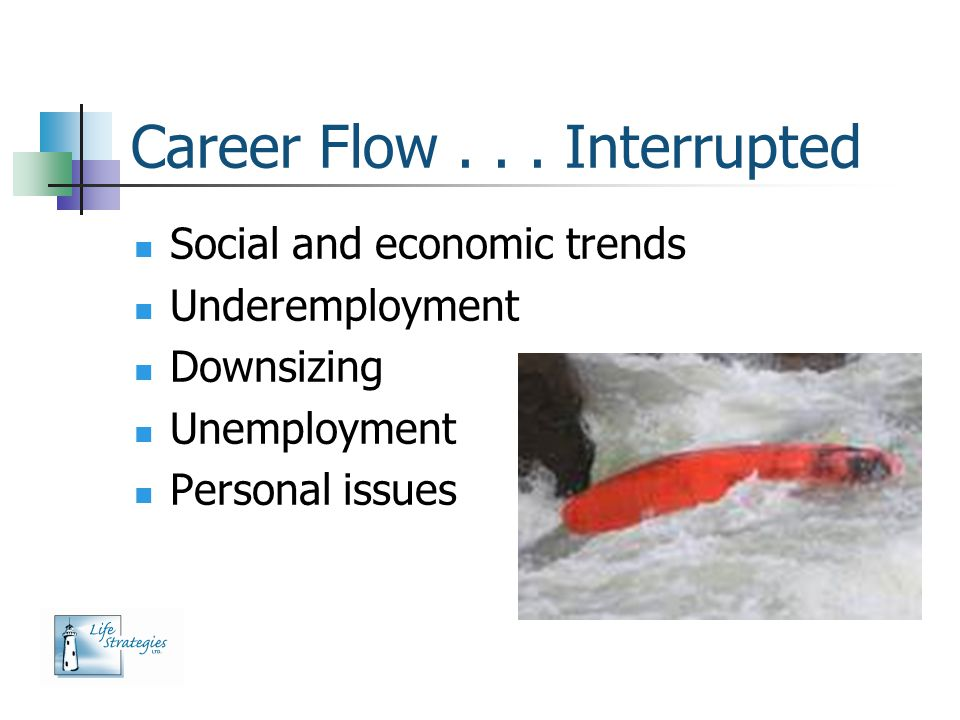 Career Flow . . . Interrupted