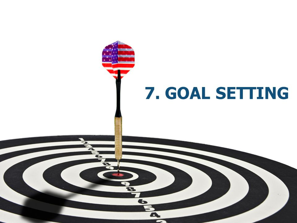 7. Goal Setting
