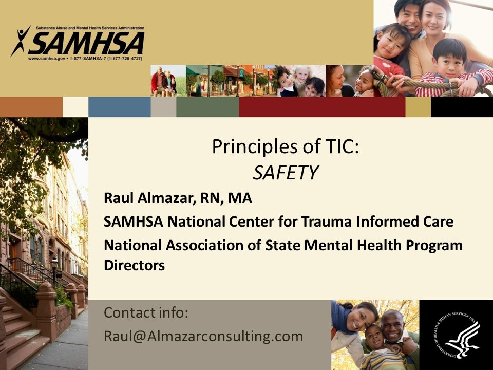 Principles of TIC: SAFETY