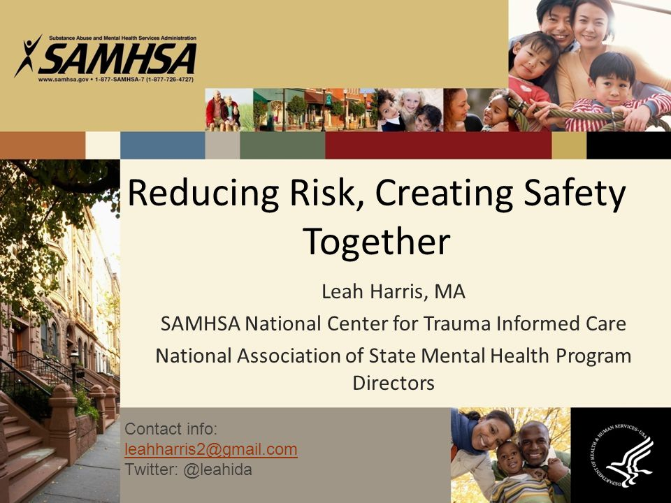 Reducing Risk, Creating Safety Together