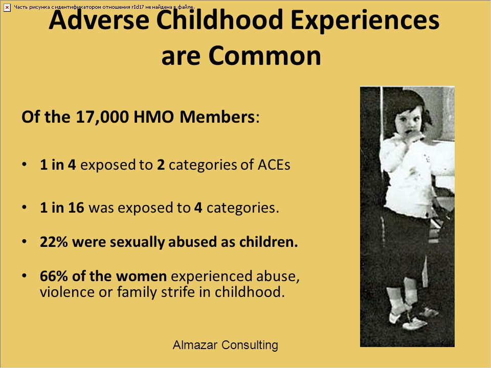 Adverse Childhood Experiences are Common